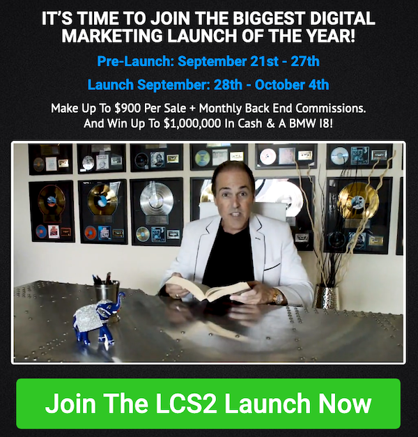 Daven Michaels + Chad Nicely - LCS2 - Lead Conversion Squared Launch Affiliate Program JV Invite Video - Pre-Launch Begins: Monday, September 21st 2020 - Launch Day: Monday, September 28th 2020 - Sunday, October 4th 2020