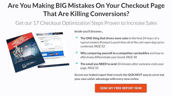 Free Report: 17 Checkout Optimization Steps Proven To Increase Sales