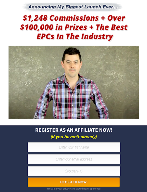 Mark Ling - Learn Build Earn 2017 high ticket launch ClickBank affiliate program JV invite video
