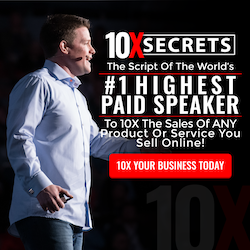Russell Brunson - 10X Secrets: The Script of the World's Highest Paid Speaker