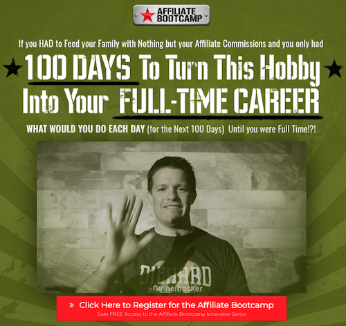 Russell Brunson (ClickFunnels)'s Affiliate Bootcamp Summit - Free Access to the Affiliate Bootcamp Interview Series.