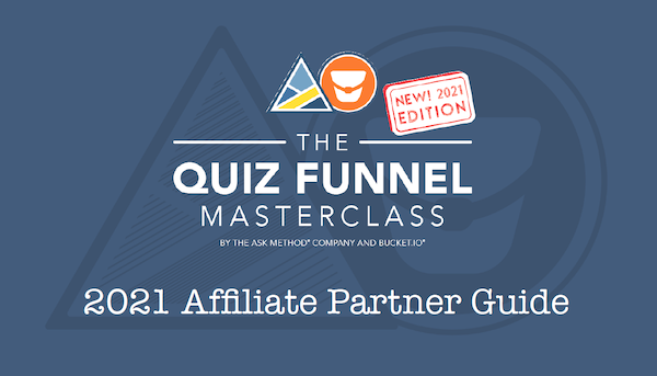Ryan Levesque - The ASK Method - The Quiz Funnel Masterclass 2021 - Pre-Launch Begins: Saturday, June 5th 2021 - Launch Day: Sunday, June 20th 2021