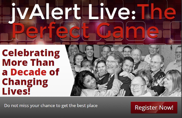 jvAlert Live - The Perfect Game - Early Bird Registration